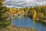 Осень в Рускеала