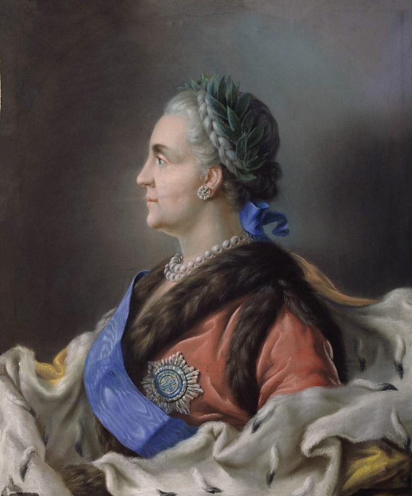 Портрет Екатерины II Музей изобразительных искусств им. Шалвы Амиранашвили, Тбилиси, Грузия