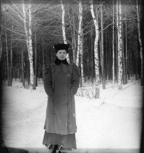 Прогулка в Петровско-Разумовское. «Клара стоит одна»