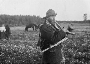 Верхние Лужицы. Пастух Павел Лавин