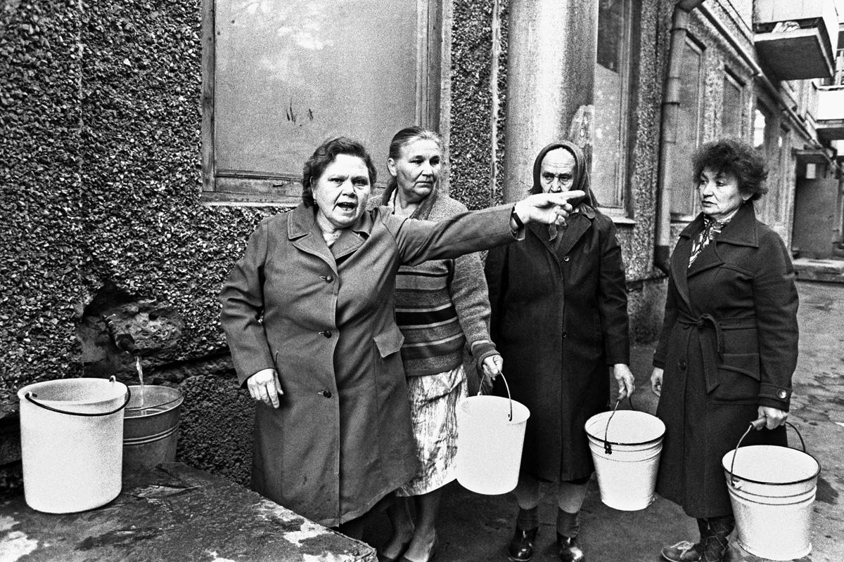 1991. Перебои с водой в Орле