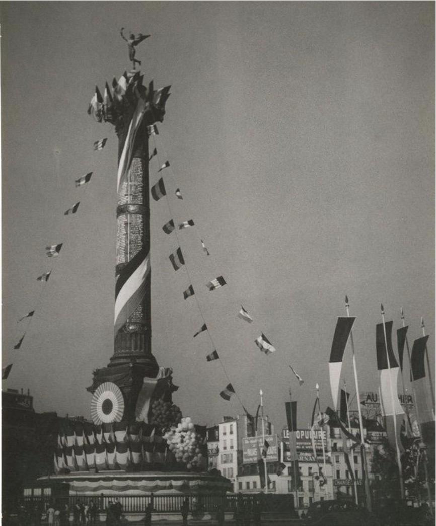 1934. Париж, площадь Бастилии, 14 июля