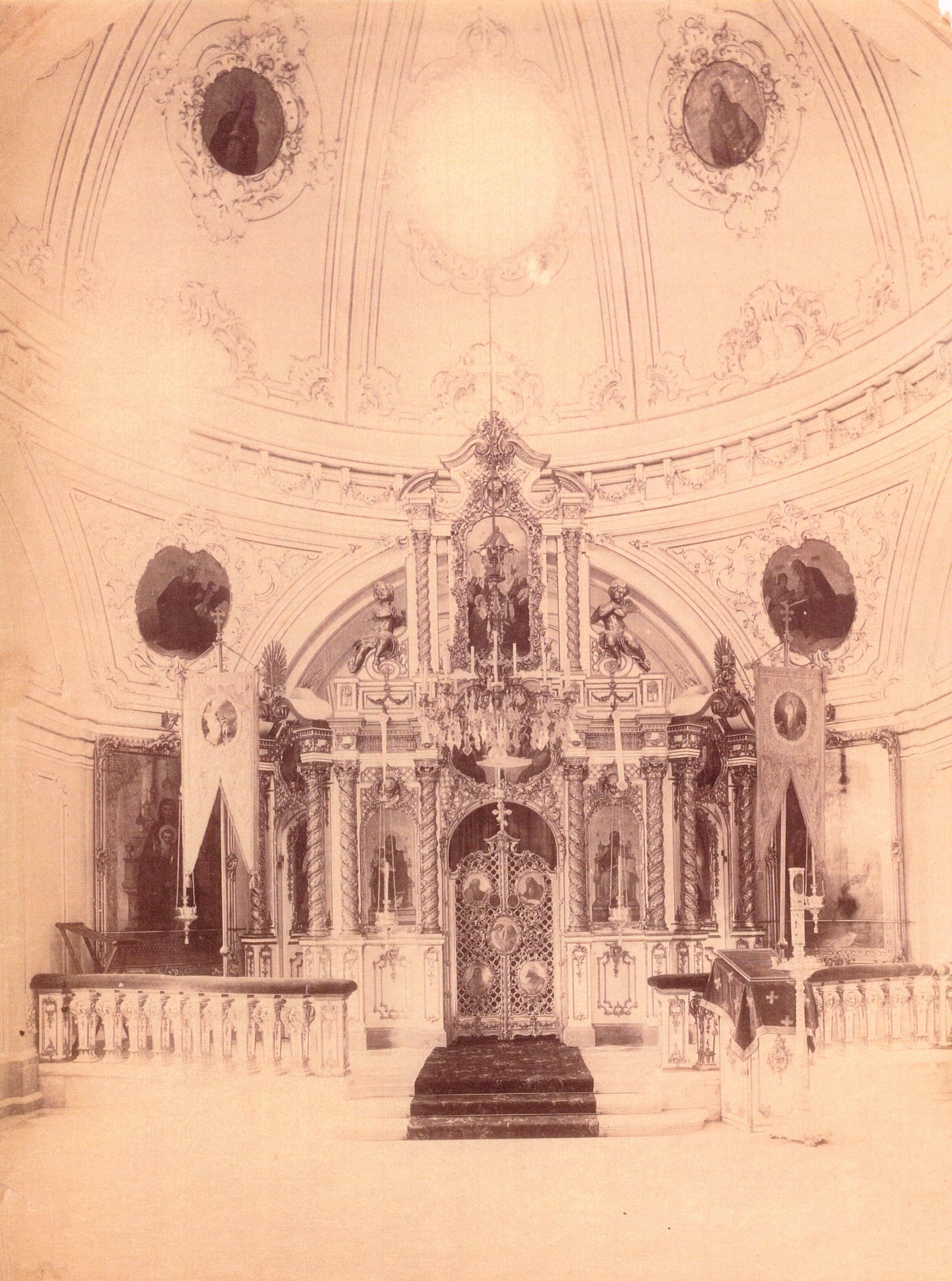 Церковь Святой Троицы. Интерьер