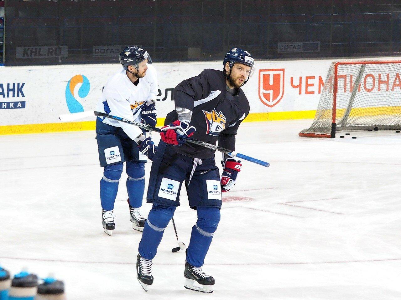 7 Открытая тренировка перед финалом плей-офф КХЛ 2017 06.04.2017