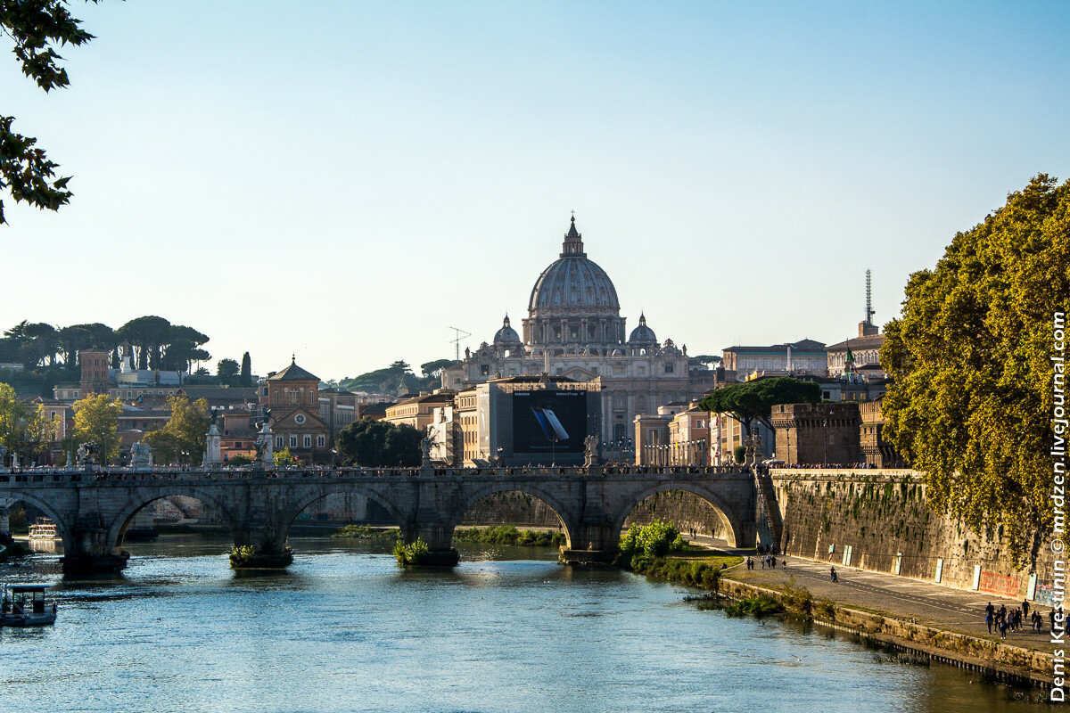 Мост Святого Ангела (Ponte Sant'Angelo)