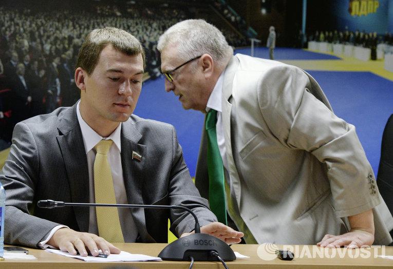 Владимир Жириновский и Михаил Дегтярёв