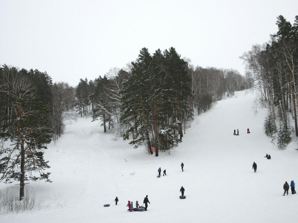 Лесная республика, горные лыжи, горнолыжный комплекс, зима, Сибирь, Кузбасс, Новокузнецк