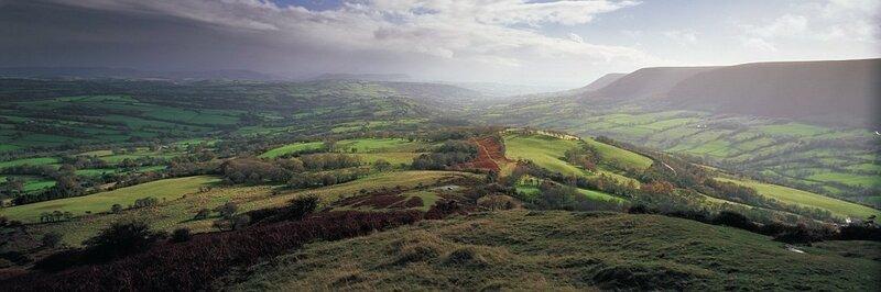 Англия. Пейзажные панорамные снимки
