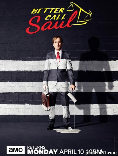 Лучше звоните Солу (3 сезон: 1-10 серия из 10) / Better Call Saul / 2017 / ПМ (Кравец) / WEB-DLRip + WEB-DL (720p) + AVC