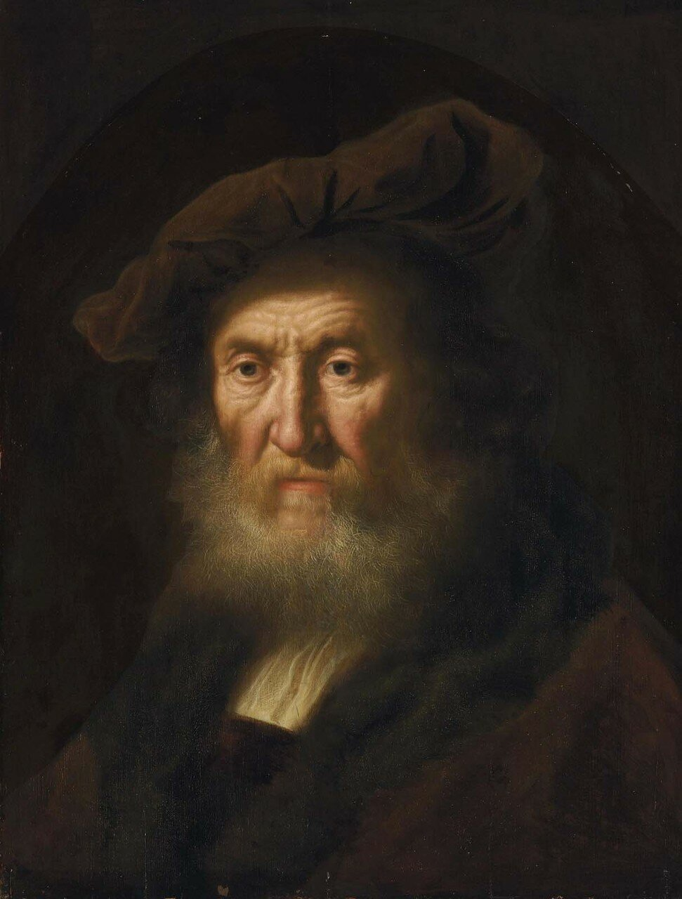 Голова пожилого мужчины (Head of an old man, bust-length)_61 х 47_д.,м._Частное собрание.jpg