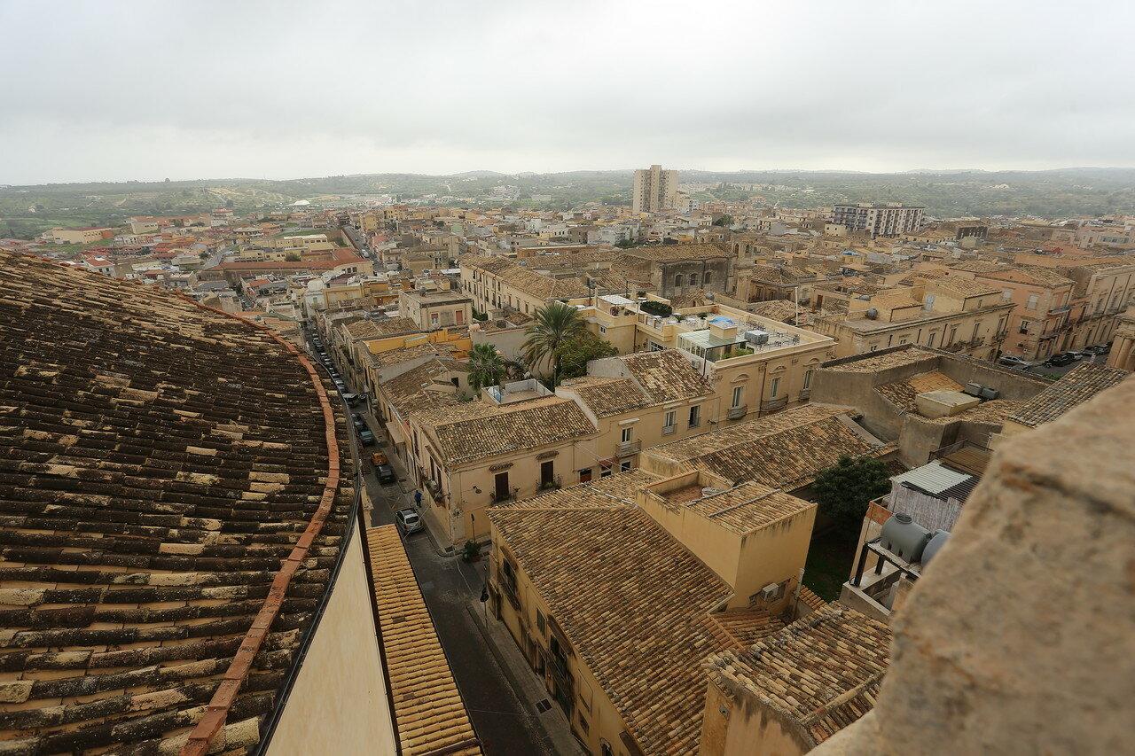 Noto view from roof of Santa Chiara church