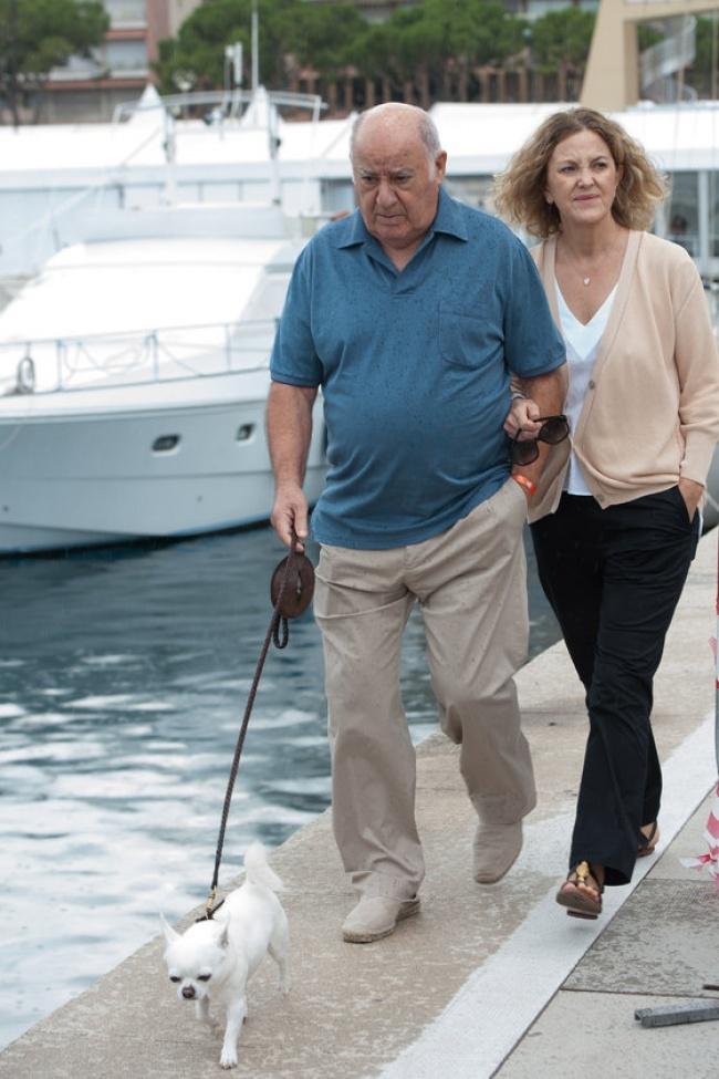 Амансио Ортега и Флора Перес Маркоте Состояние человека, который владеет Inditex — крупнейшей компан
