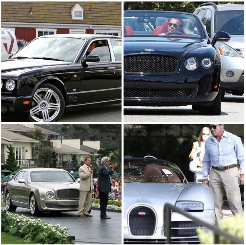 После сложения полномочий губернатора, глупо было не купить хотя бы один Hummer красного цвета. Хоть