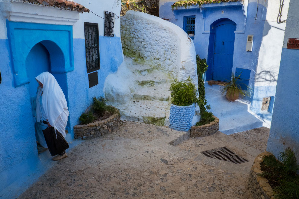С этого чудесного небесного города началось наше знакомство с красочной страной Марокко. Дальше