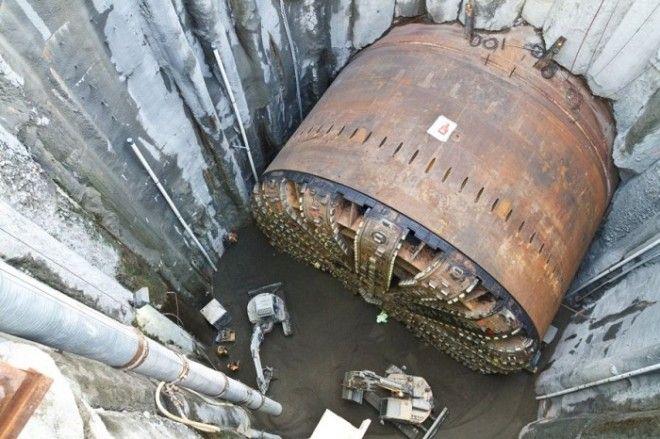 Cамая большая в мире машина для прокладывания туннелей