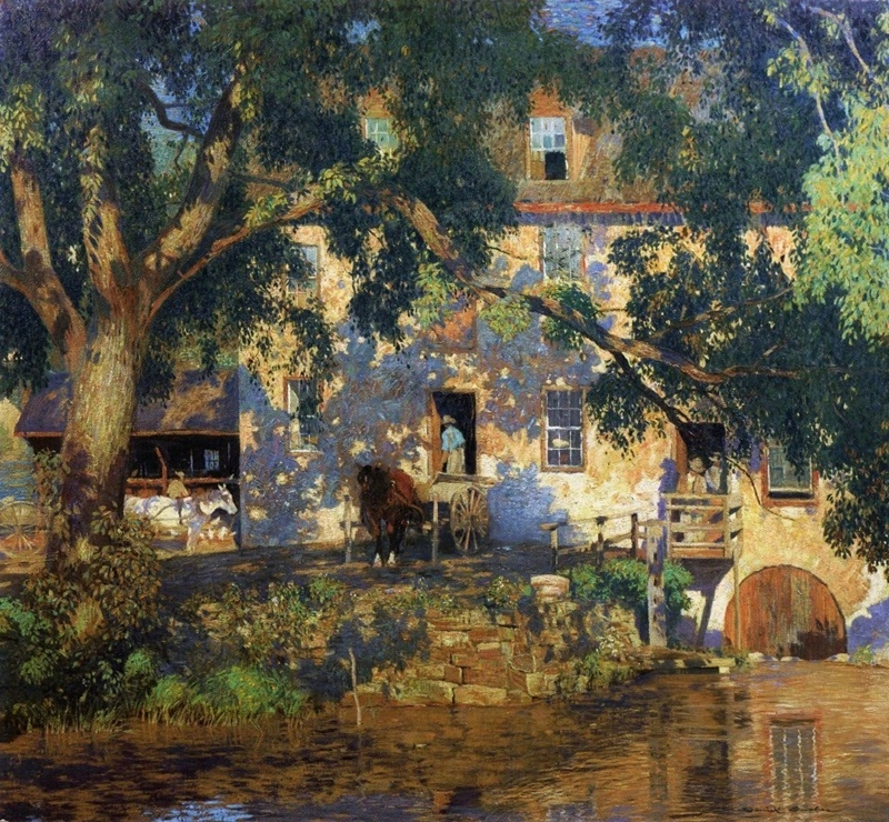 Garber_The_Old_Mill-1921