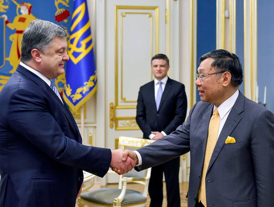 Порошенко запустил Год Японии вУкраинском государстве