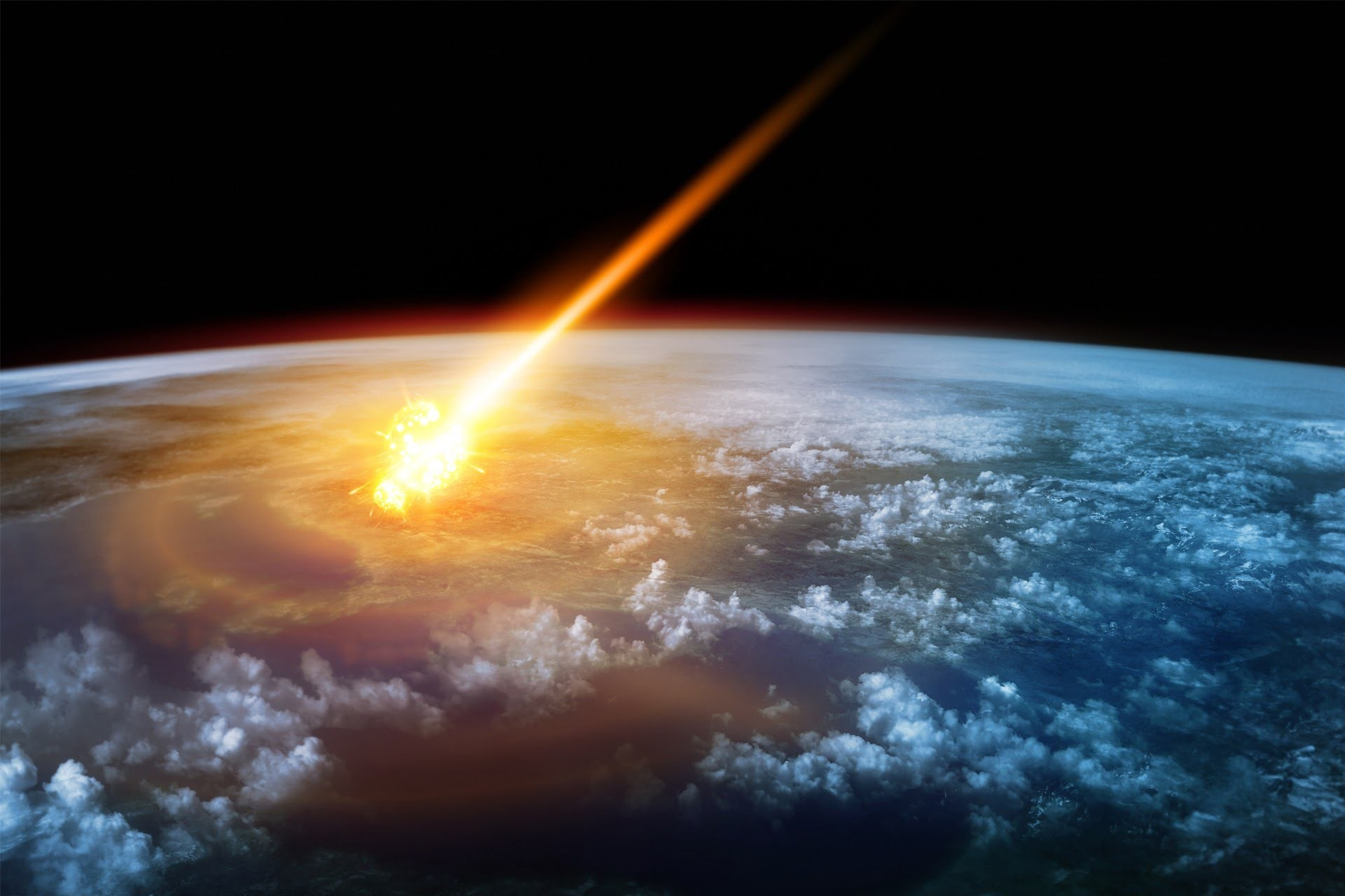 Earth will be hit by an asteroid that WILL wipe   The Sun
