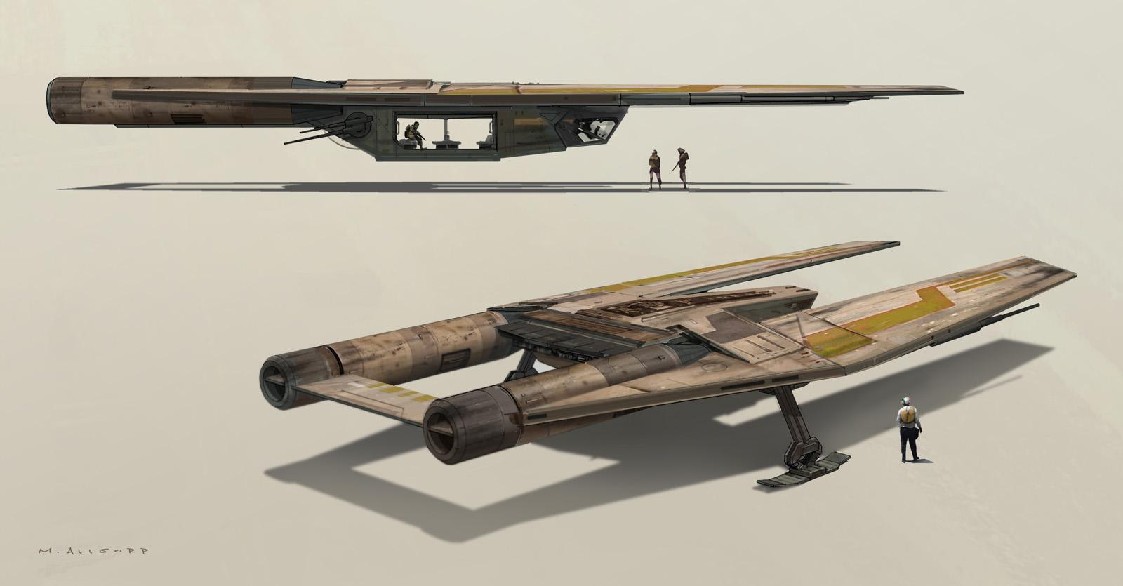 Rogue One: A Star Wars Story Concept Art by Matt Allsopp