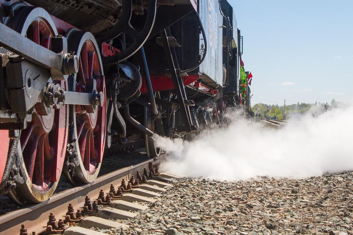 Ретро-поезд Победа фото 14