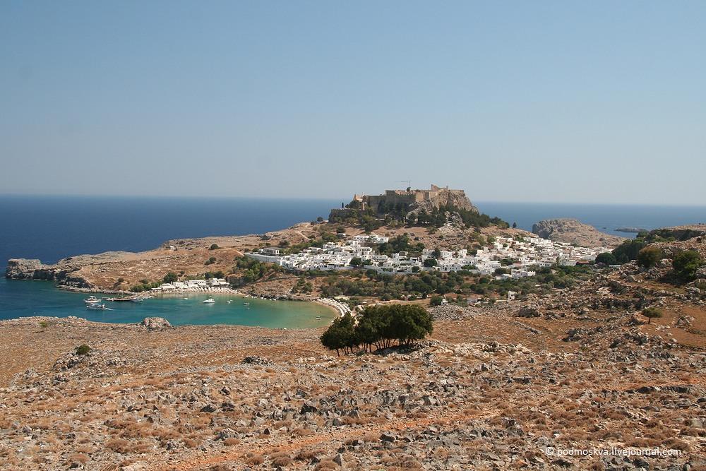 Родос - греческая жемчужина Средиземноморья
