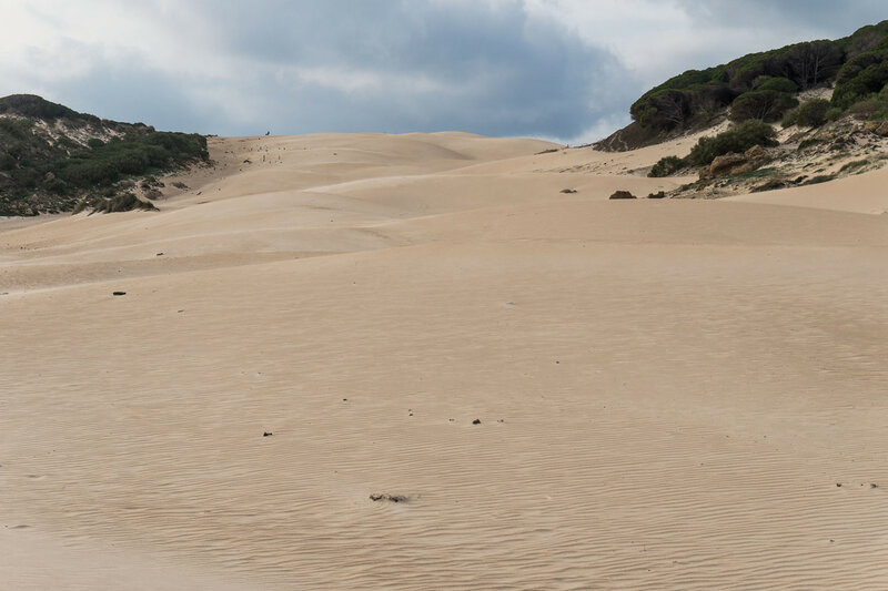 Дюна Bolonia на берегу Света (costa del luz), Кадис