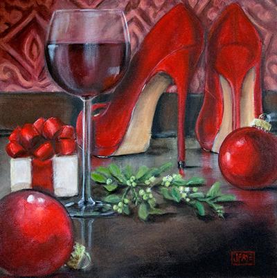 Джеки Фэй. Серия Красные туфли.