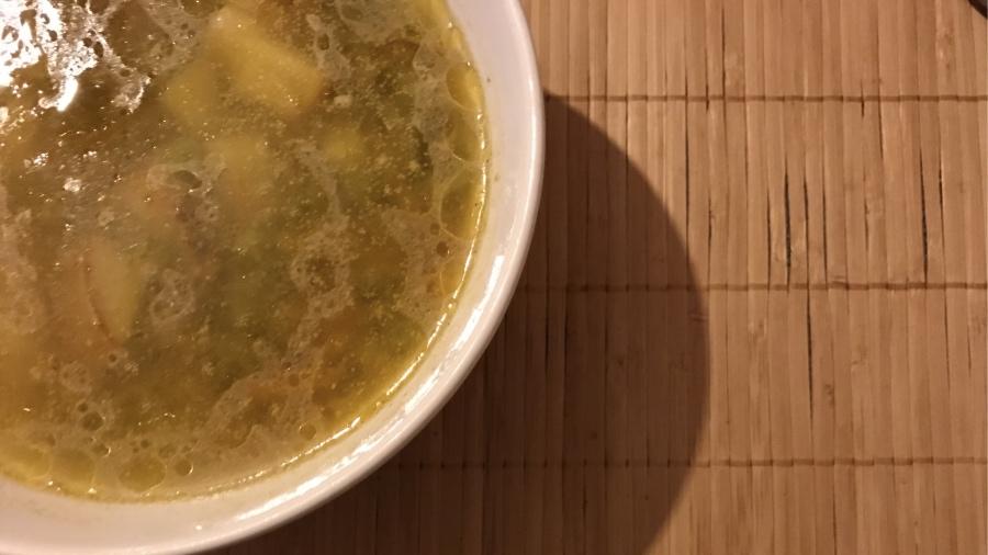 Зимний суп для голодного папы