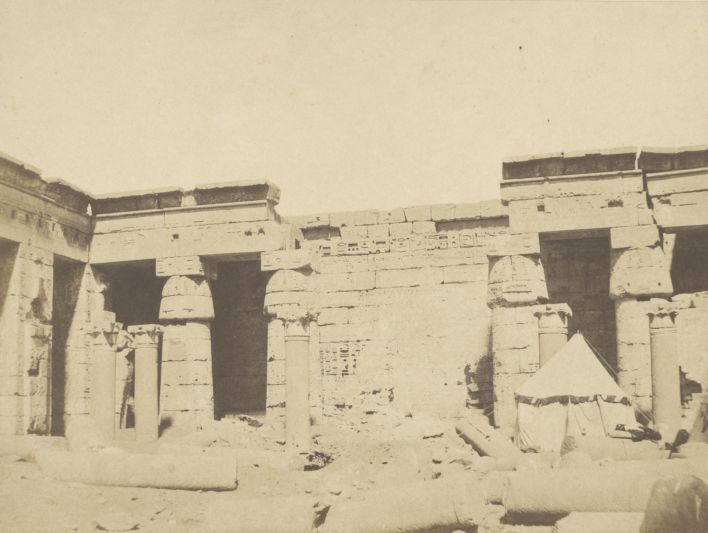 Мединет-Абу. Дворец Рамсеса II. Второй двор