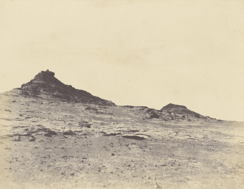Исследования территории возле Гебель-Абусира, второго порога