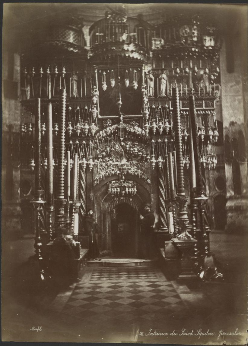 Храм Гроба Господня. Интерьер