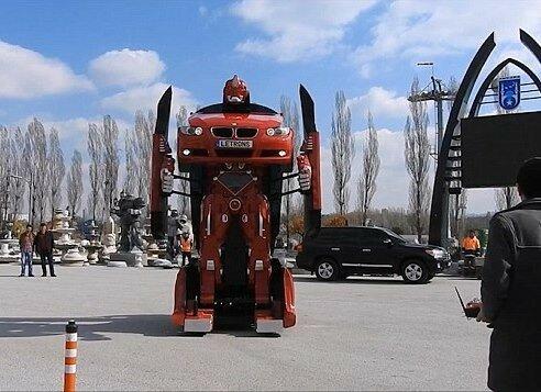 Турецкие инженеры создали реальный автомобиль-трансформер
