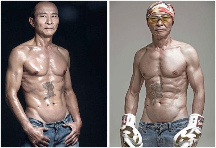 Мужчина изменил свое тело в 61 год