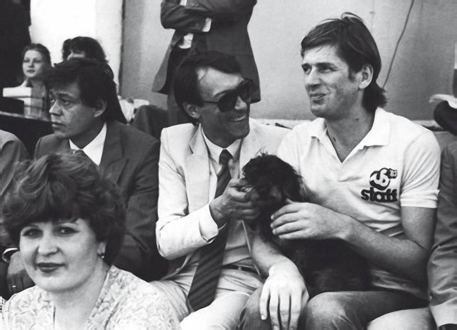 Николай Караченцов, Олег Янковский и Александр Абдулов