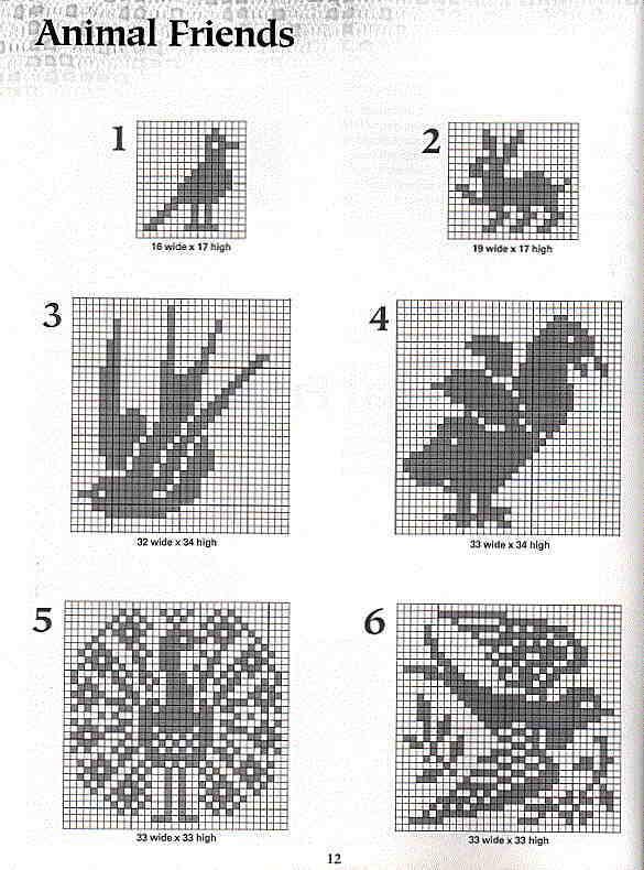 Схема вязания крючком жирафа