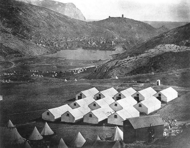 Английский лагерь у Балаклавы. 1855 г..jpg