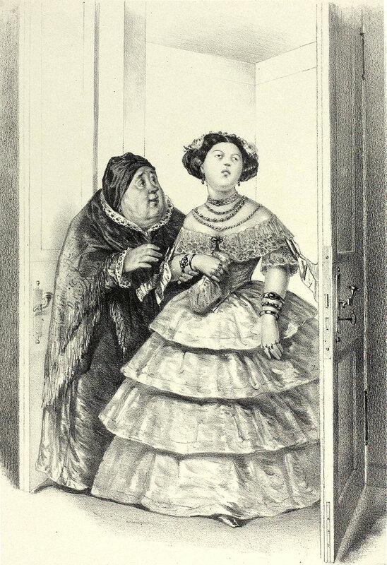 Иллюстрация к пьесе А.Н. Островского Свои люди - сочтемся.jpg