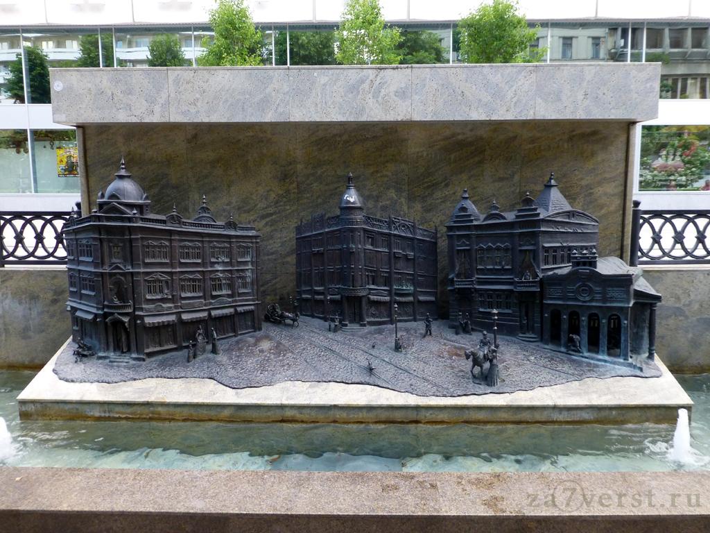 Краснодар, фонтан