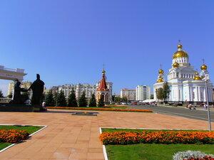 Саранск - столица Мордовии.