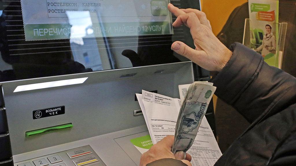 Вработе уличных банкоматов Сбербанка зафиксированы сбои из-за морозов