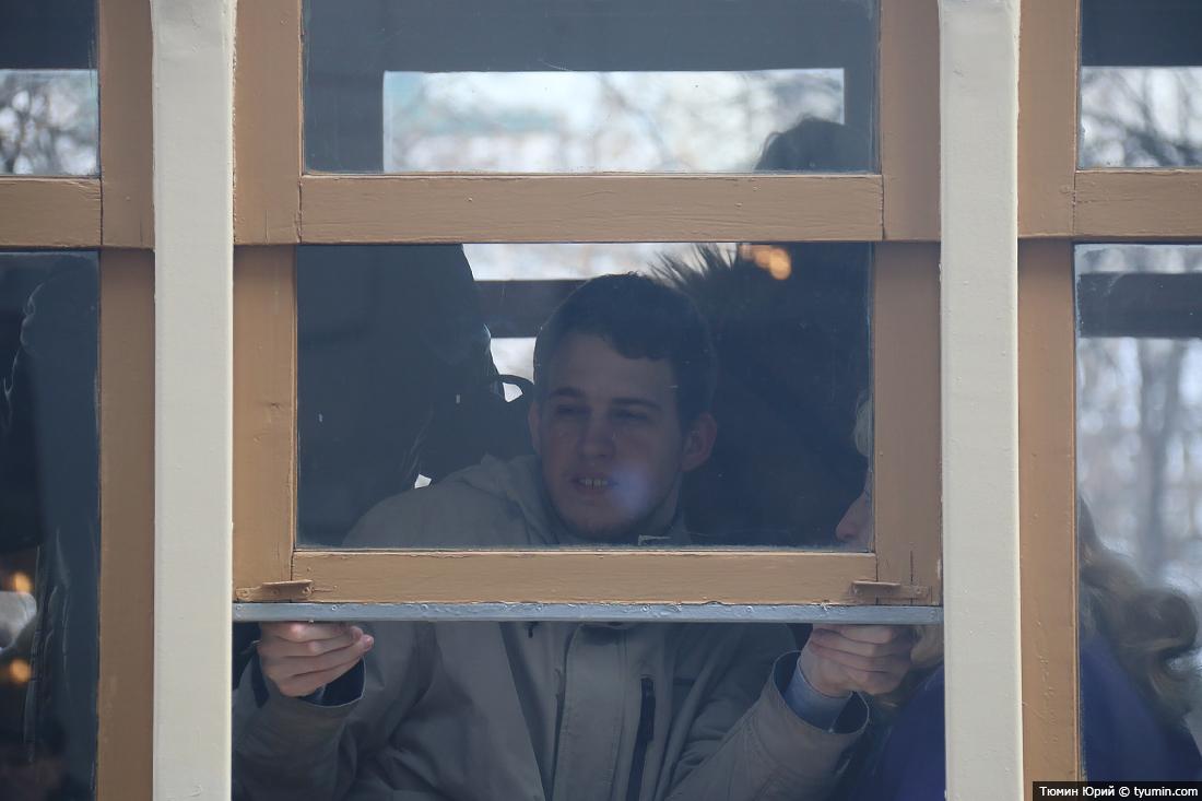 Журналист и путешественник Юрий Тюмин поделился с экологами репортажем о параде трамваев в Москве  - фото 27