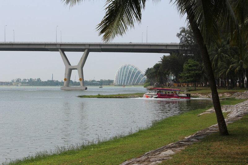 Реки и проливы Сингапура