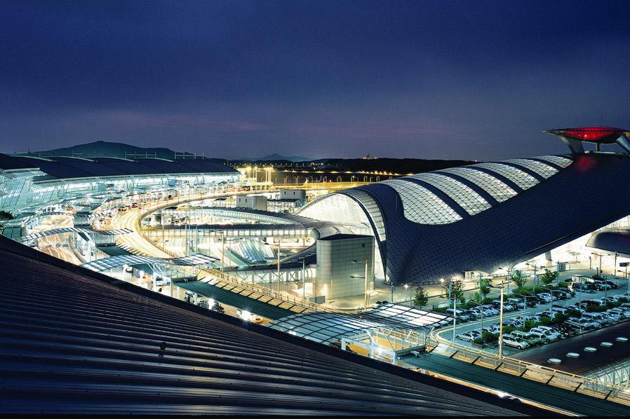 3. Инчхон построен очень удобно. Это не Дубайский аэропорт и не Шарль-де-Голль с разбросанным т