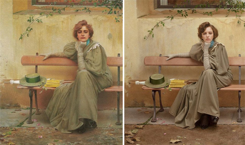 «Мечты», Витторио Маттео Коркос, 1896 год.
