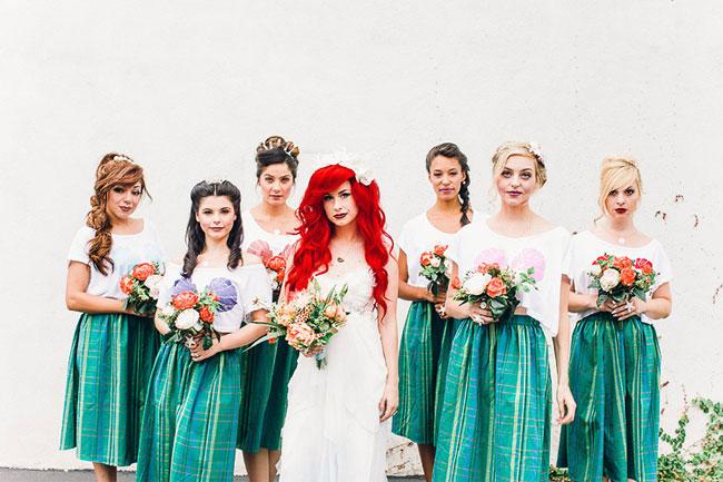 Как выглядела бы свадьба русалочки Ариэль в реальной жизни (16 фото)