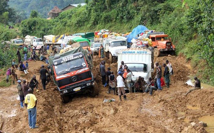 5. Конго Отличительной чертой Конго является низкий уровень вождения. На дорогах встречаются многочи