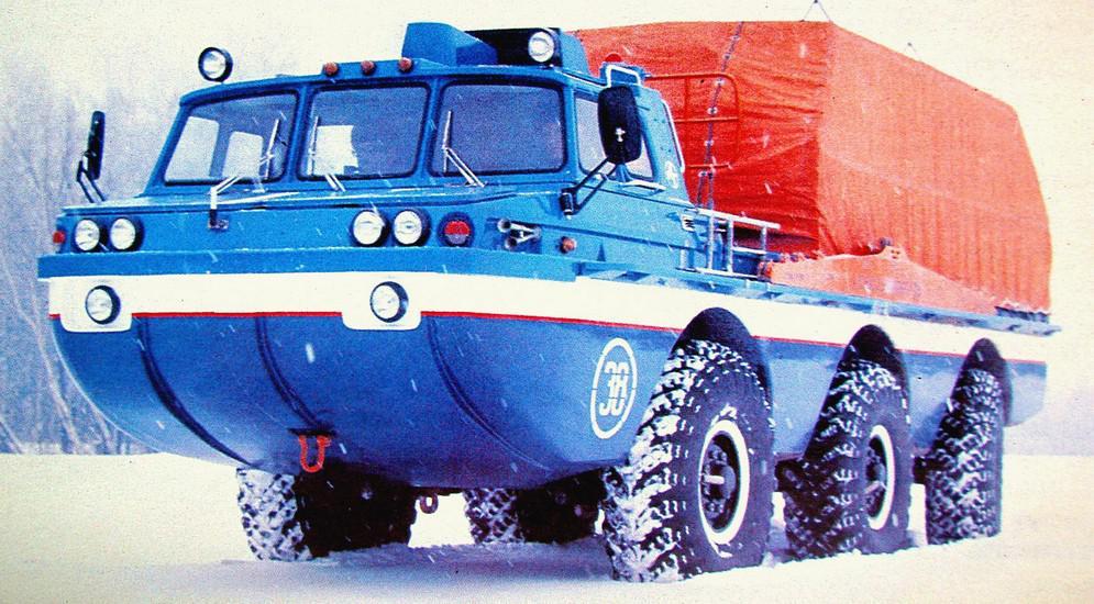 Серийный образец поисково-эвакуационной установки ЗИЛ-4906
