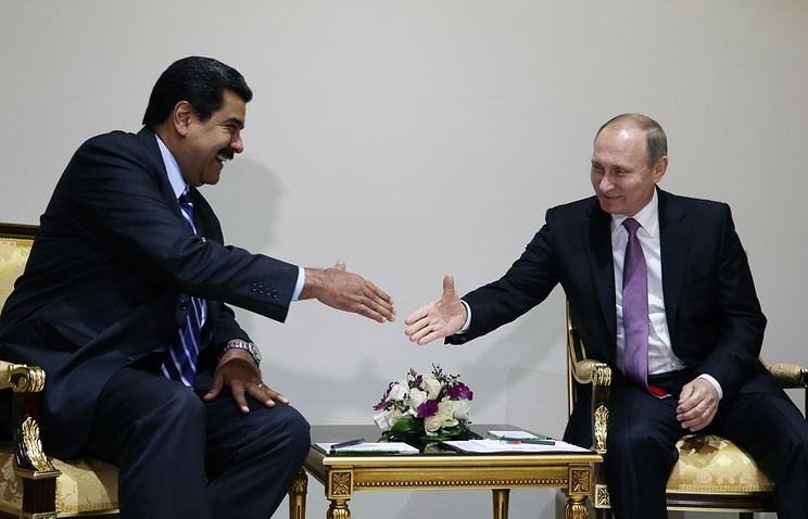 Делегация президента Венесуэлы поразила В.Путина