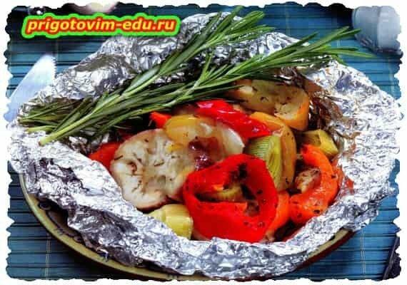 Закуска из овощей для пикника