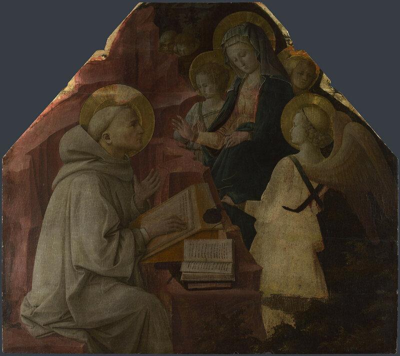 Saint Bernard's Vision of the Virgin